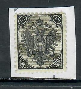 BOSNIA AND HERZEGOVINA 1894 1/2 BLACK UNUSED