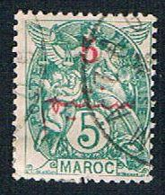 French Morocco 27 Used Surcharge (BP1369)