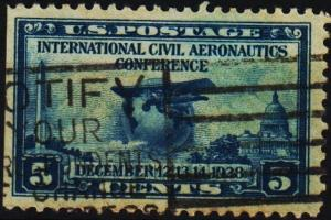 U.S.A. 1928 5c S.G.653 Fine Used
