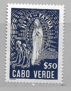 Cape Verde 266 Our Lady of Fatima single MLH