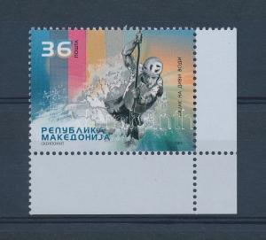 Makedonien stamp Rafting corner stamp MNH 2005 Mi 374 WS129213
