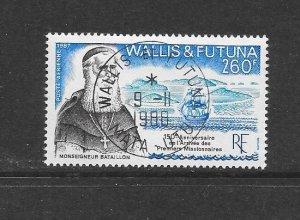 WALLIS & FUTUNA #C155 ARRIVAL OF MISSIONARIES   CANCELLED