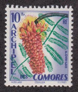 Comoros Isl. # 45, Flower  Mint H, 1/2 Cat.