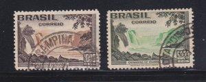 Brazil 455-456 Set U Iguacu Falls
