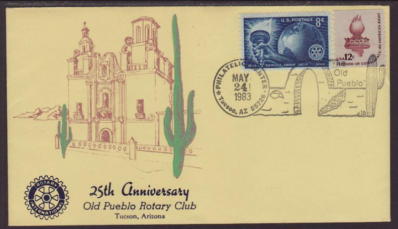 25th Anniversary Old Pueblo Rotary Club 1983 Cover
