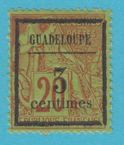 GUADELOUPE 3 MINT HINGED OG *NO FAULTS VERY  FINE !