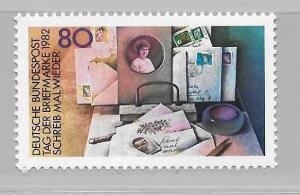 Germany 1382 Stamp Day single MNH