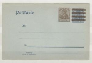 Germany Deutsches Reich 3pf Postal Card (Pre-Cancelled?) J3798