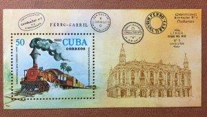 CUBA 1980 SC#2375 7th Nat. Stamp Exhibition Phil.Exhib 50c Souvenir Sheet MNH