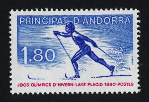 Andorra Fr 276 MNH Cross-Country Skiing, Sports, Winter Olympics