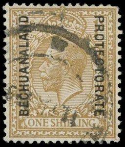 Bechuanaland Scott 104 Variety Gibbons 98w Used Stamp