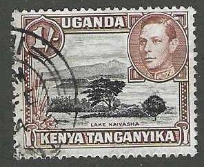 Kenya, Uganda, & Tanzania 80a  Used