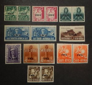 South West Africa 135-43. 1941-43 War Issue