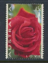 Australia SG 1445 Used - Greetings Roses