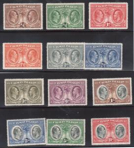 Cayman Islands #69 - #80 VF Mint Set