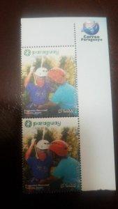 O) 2018 PARAGUAY,NATIONAL YOUTH TOURISM PROGRAM, EXTREME SPORT - TIROLESA