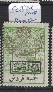 SAUDI ARABIA  (P0503B) TRAIN  SC J14   MNH