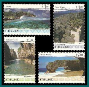 Niue 1999 Scenic Views, MNH 734-737,SG863-SG866