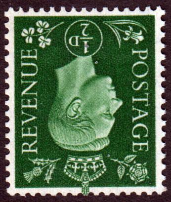 GB KGVI 1937 0.5d Green SG462Wi Wm Inverted Mint Never Hinged MNH UMM