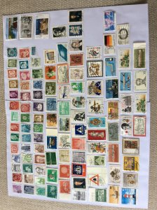 German 100+ stamps - Lot A