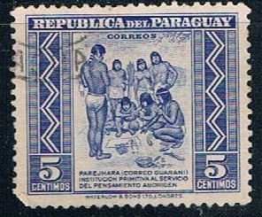 Paraguay Natives 5 - pickastamp (PP8R801)