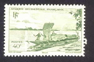 French West Africa 38 MHH