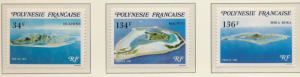 French Polynesia Stamps Scott #352 To 354, Mint Never Hinged - Free U.S. Ship...