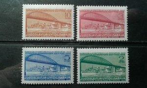 Yugoslavia #239-42 MNH e1912.5708