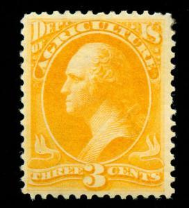 momen: US Stamps #O3 Mint OG VF