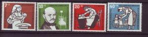 J25276 JLstamps 1956 germany set mh #b350-3 designs