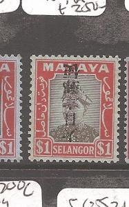 Malaya Jap Oc Selangor SG J285a MNH (8dap)
