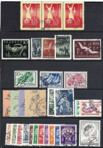 YUGOSLAVIA TRIESTE 1948-54 scv $104.40 less 50%=$52.20 See Below