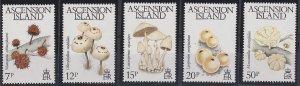 Ascension 323-327 MNH (1983)