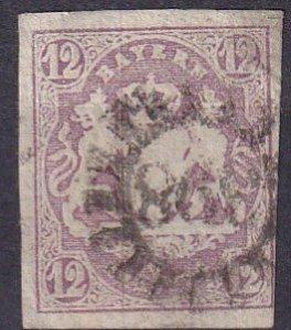 Bavaria #21 F-VF Used CV $95.00 (Z3989)