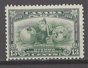 COLLECTION LOT # 3095 CANADA #194 MH 1932 CV+$10