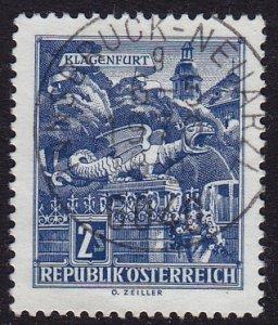 Austria - 1968 - Scott #696 - used - INNSBRUCK-NEUARZL pmk