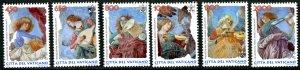 Vatican City MNH mint 1075-80 angel music instuments      (Inv 001770.)