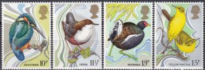 Great Britain #894-7 MNH  (A10617)