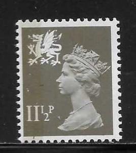 Great Britain Wales WMMH16 11 1/2p Machin MNH