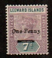 Leeward Islands #19  Mint  Scott $7.00