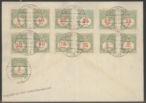 Germany 1940 WWII Occupied Luxemburg Luxembourg Souvenir Cover G101910