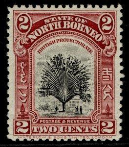 NORTH BORNEO GV SG278, 2c scarlet, M MINT.