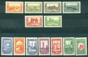 Algeria #B14-B26  Mint  VF VLH  Scott $135.75