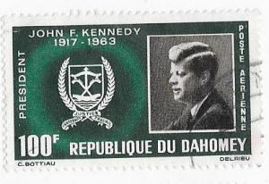 Dahomey #C30  J.F.K.  (U) CV$1.10