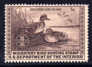 MALACK RW6 F/VF OG NH, fresh stamp, mild bend, nice g7750