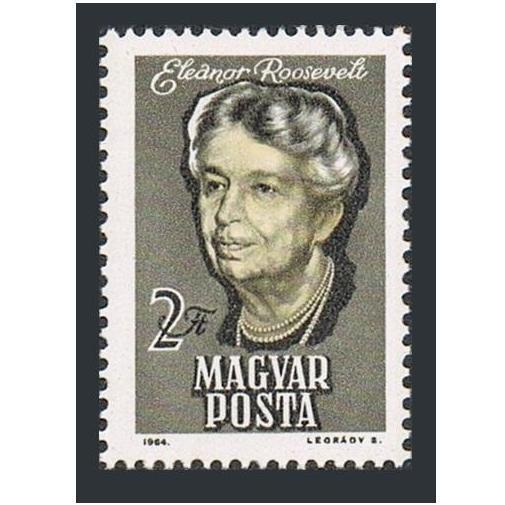 Hungary 1596 block/4,MNH.Michel 2017. Eleanor Roosevelt,1964.