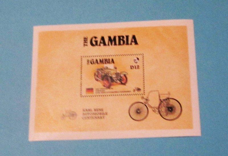 Gambia - 629, MNH S/S. AMERIPEX '86. SCV - $6.50