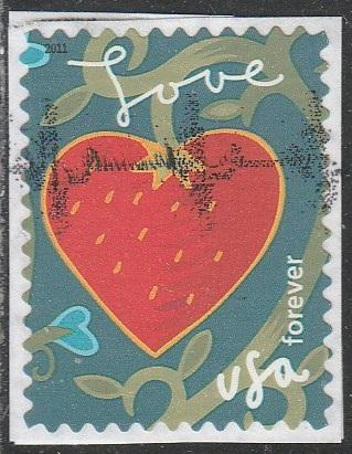 4539 - Forever Garden of Love used f-vf. on pc.