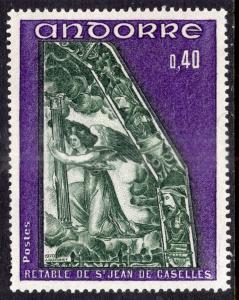 Andorra French 200 MNH VF