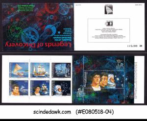 MARSHALL ISLANDS - 1992 LEGENDS OF DICOVERY / SHIPS & SPACE - STAMPBOOKLET MNH